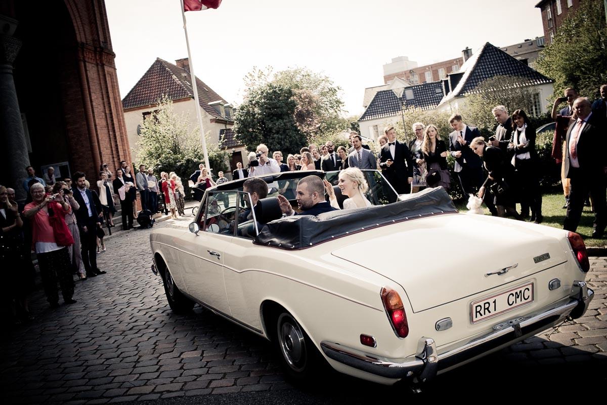 Fem gode råd til at finde den bedste bil til brylluppet