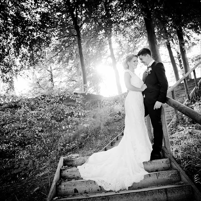fotograf Tarm bryllup