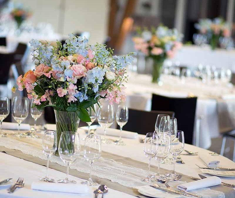 Fem ideer til mad til brylluppet